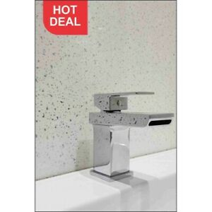 WHITE SPARKLE PANNEL 1000MM x 2.4m Shower wall panels wet wall