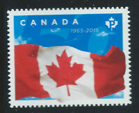 """Canada #2807i(1) 2015 """"P"""" 92 cent FLAG OF CANADA from Quarterly Pack MNH"""
