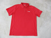 Nike Golf Tour Performance Polo Shirt Adult Medium Red Gleneagles Dri Fit Mens