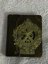 Briquet Trench Art Superbe Canadien Cameron Highlanders Ww1 Tommy Somme Flandres