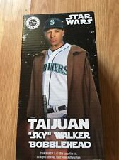 "TAIJUAN ""SKY"" WALKER BOBBLEHEAD - Seattle Mariners - Star Wars - 2016"