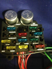 12 Circuit EZ Wiring Harness Chevy Mopar Ford Street Hot Rod with Color Wires !!