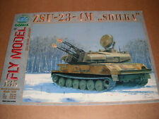 Paper Card Model - ZSU-23-4M Shilka - by Fly Model Gomix
