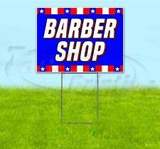 Barber Shop 18x24 Yard Sign With Stake Corrugated Bandit Usa Business Salon