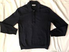 Nicole Farhi men's jumper black wool blend size S Dry cleaned