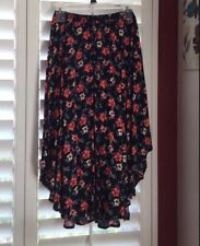 NWT Hollister Size S Floral Cotton Floral Skirt