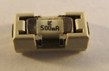 10 Stück Littelfuse 0154.500DR SMD Sicherung mit Halter, 500mA 125V - 10pcs