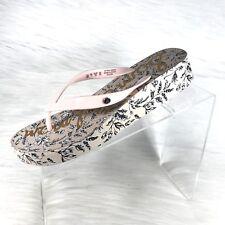 Sam Edelman Kylee Women's Thong Sandals Pink Floral Size 9 M New