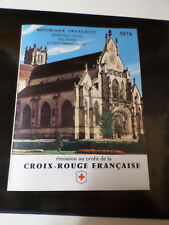 FRANCE 1976, CARNET CROIX ROUGE, neuf**, VF MNH BOOKLET RED CROSS