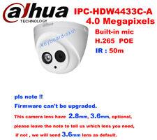 dahua DH-IPC-HDW4433C-A(Replace HDW4300C) 4MP POE IR Network IP IP67 Dome Camera
