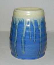 SMALL BLUE REMUED VASE - VERY ATTRACTIVE
