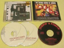 Foundations Coming Up From The Streets & The FSOL Accelerator 2 Albums 3 CDs Tec