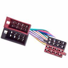 Macho Para Mujer ISO Plomo Stereo Radio arnés de cableado Cable De Adaptador Conector De Telar