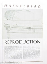 Hasselblad - Reproduction Photography - English - USED