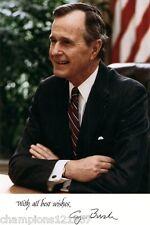George Bush ++Autogramm++ ++Präsident der USA++