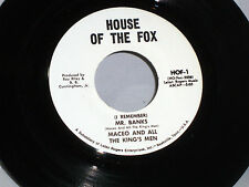 Maceo & All the Kings Men:  Mr. Banks / Got to Get'cha [White Label - Unplayed]