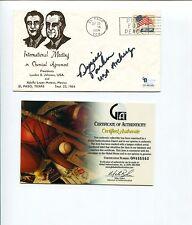 Denise Parker 1988 US Olympic Bronze Archer Medal Signed Autograph FDC COA