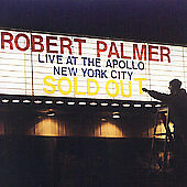 Robert Palmer - Live at the Apollo CD - Funk / Soul / Pop - Power Station