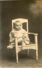 IPSWICH(Suffolk) : Richard Woolmer(six months) in a chair RP-BOUGHTON