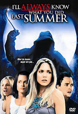 I'll Always Know What You Did Last Summer, Horror Dvd, (2006)