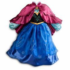 DISNEY STORE FROZEN Anna Costume Dress SIZE 5/6 Halloween