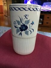"""Hand painted Tumbler Cup  Or Vase From Adams """" Baltic"""" Mint!"""