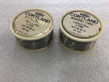 Cortland Monowire Solid Wire Trolling Line 40# Test 2-100yds | Model: Cmw40