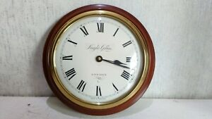 """Knight And Gibbins london Vintage Wall Hanging Round Clock 10"""""""