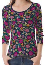 3/4 Arm Damen-T-Shirts aus Baumwolle in Größe XL
