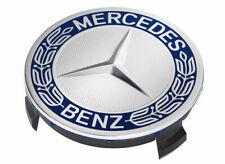 Original Mercedes-Benz Nabendeckel Stern mit Lorbeerkranz blau A17140001255337