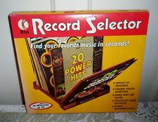 1972 K-Tel Record Selector Stand Holds 24 Records - NEW in BOX!