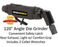 """Angle Air Die Grinder - 1/4"""" 120 Degree - Polishing Grinding Deburring Tool"""