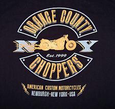 ORANGE COUNTY CHOPPERS / CUSTOM MOTORCYCLES / NEWBURGH NEW YORK USA / T-SHIRT L