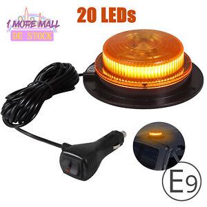 LED Rundumlicht Rundumleuchte 12V 24V Magnet Warnleuchte Blinklicht AnhängerIP67