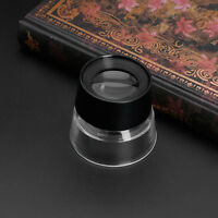 10X Eye Magnifier Loupe Lens Jeweler Coin Stamp Monocular Magnifying Glass Hot