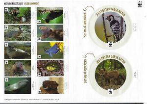 Denmark WWF sheet 2021 - Save wildlife animal in Denmark
