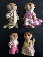 sylvanian families meerkat Family
