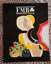 Rivista d'arte FMR (mensile di Franco Maria Ricci - n°31   1985   1/16