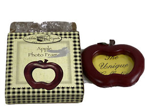 Apple Picture Frame Cobble Creek Apple Shaped Standing Photo Frame
