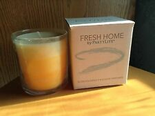 PARTYLITE FRESH HOME FRESH CITRUS NECTAR GLASS JAR CANDLE NEW IN BOX
