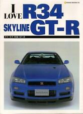 I Love R34 Skyline Nissan GT-R Complete Fan Book Japan