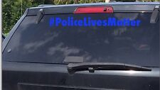 Polices Lives Matter Decal, Pick A Color Vehicle Vinyl Sticker
