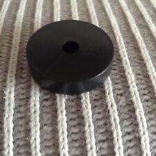 Adattatore in plastica per 45 giri Adaptor 45rpm per Giradischi Nero