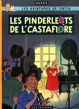 HERGE: TINTIN EN PATOIS PICARD TOURNAISIEN. LES PINDERLEOTS(... 1980. Cartonné.