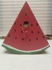 Handmade Watermelon Shaped Hanging Birdhouse