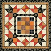 Quilt Kit All Hallows Eve/Sleepy Hollow Layer Cake by Andover