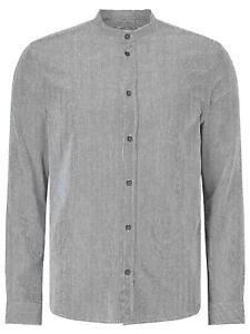 Samsoe & Samsoe Liam EX Stripe Long Sleeve Shirt Dark Sapphire/White Size S UK