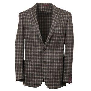 Sartoria Partenopea Slim-Fit Layered Check Boucle Wool Sport Coat 40R (Eu 50)