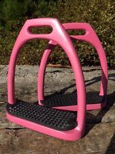 Pink Horse Riding Stirrups Aluminium Pink Stirrups