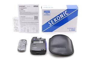 [Top MINT IN  BOX] SEKONIC L-308X Flashmate  LIight Meterller From JAPAN #1337